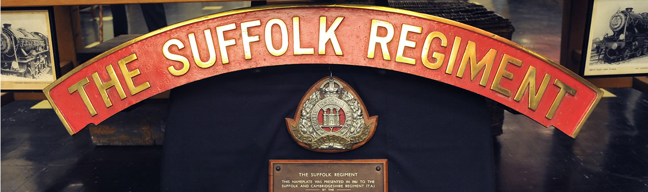 Suffolk Regiment Museum banner