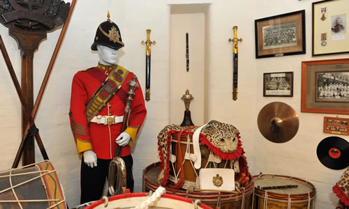 Suffolk Regiment Museum display