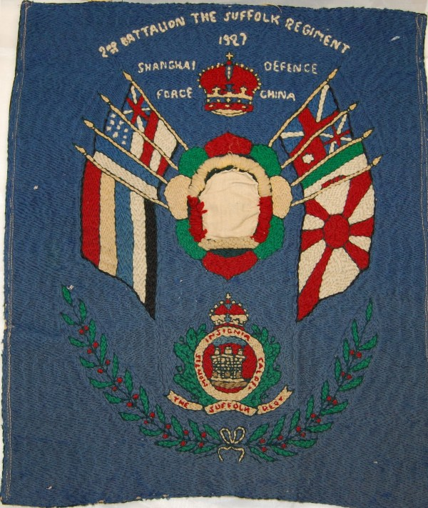Embroidered Regimental Badge