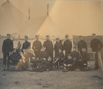 Volunteers in Camp