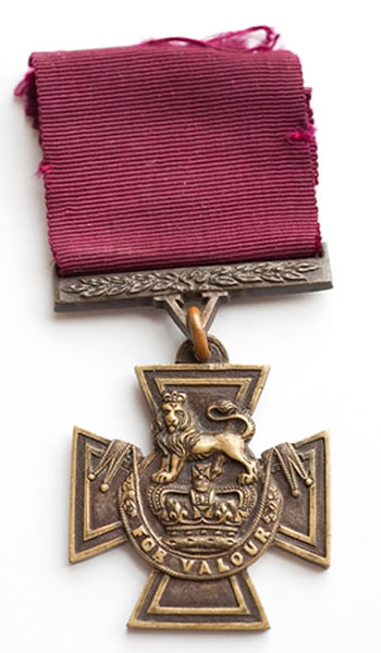 The Victoria Cross of Sergeant Arthur Saunders