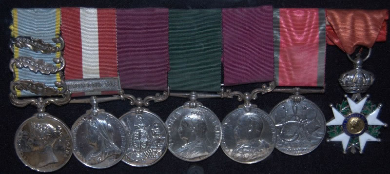 Medal group of Sgt James O'Neill