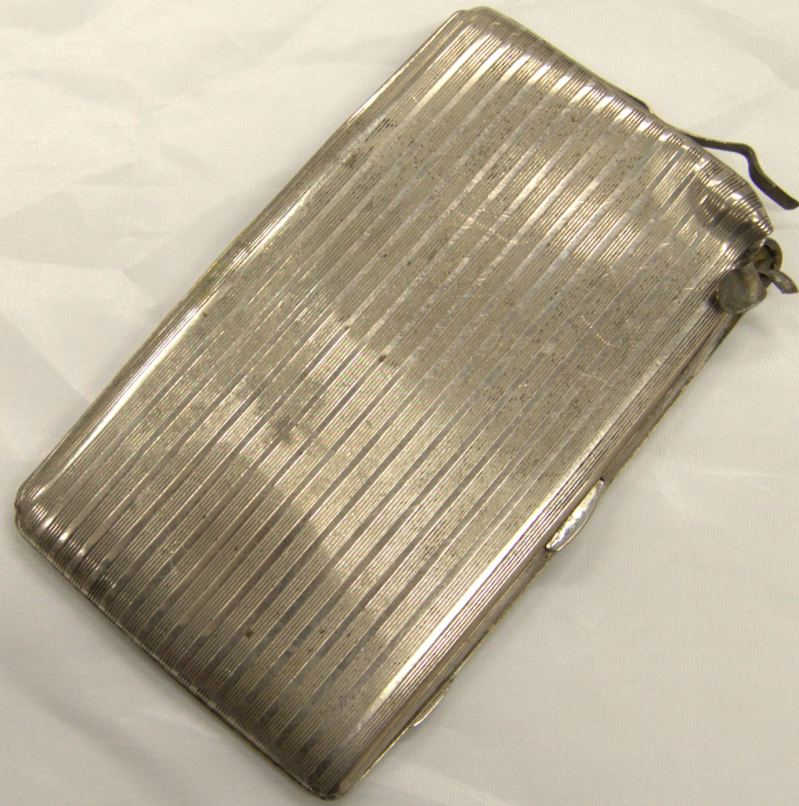 Cigarette Case of Lt Gilbert Kilner